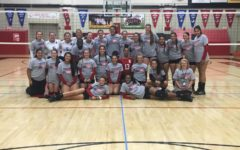 East and Roosevelt volleyball fund raise for hurricane victims
