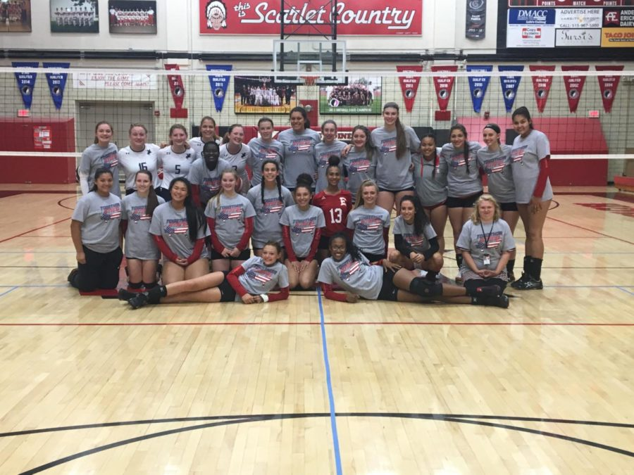 East+and+Roosevelt+volleyball+fund+raise+for+hurricane+victims