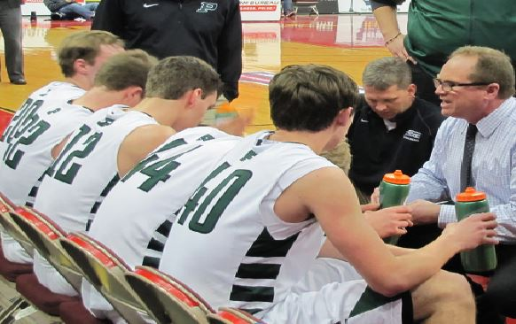 "The conductor, Mark Core, new East High Basketball Coach, leading his team, the Pella Dutch, in the 2015 State Tournament. Core, who is taking over , and he is hoping to achieve a similar level of success; but not without some changes first. ""We need to make sure we define success properly,"" Core said."