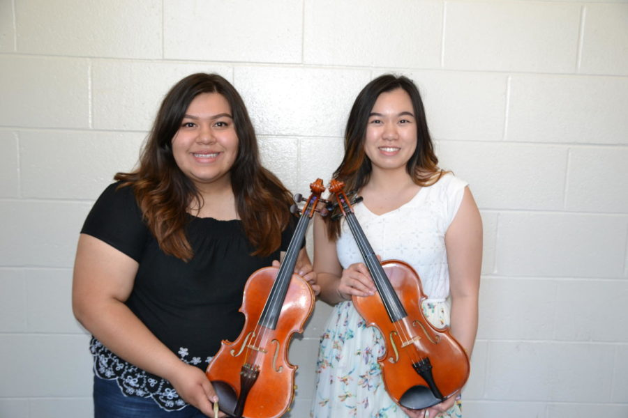 Orchestra first chair seniors